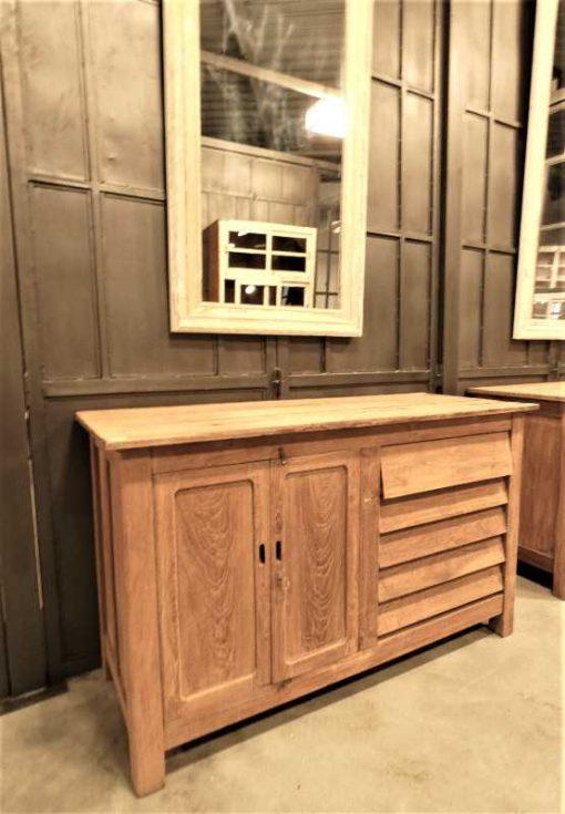 Vintage teakhouten keukenblok / werktafel / dressoir-3