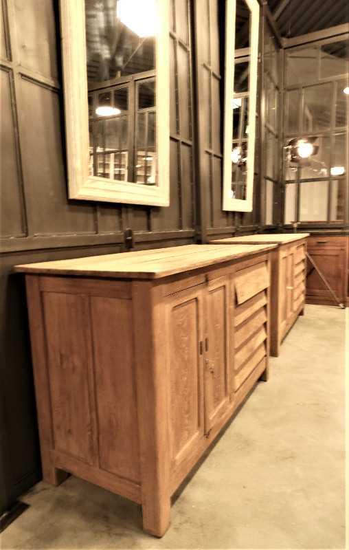 Vintage teakhouten keukenblok / werktafel / dressoir-5