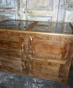 Antique display case counter-3
