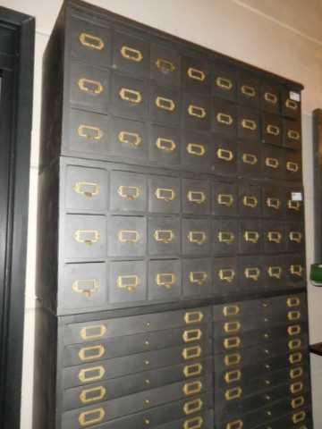 Industriele metalen archief kast-2