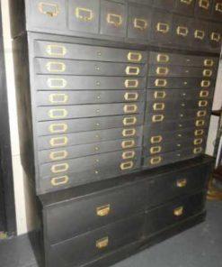 Industriele metalen archief kast-3