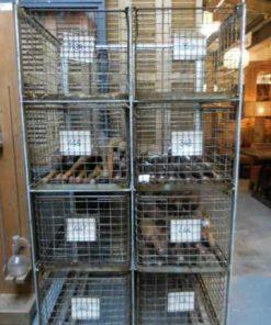 Vintage industrial cabinet / rack-1