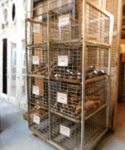 Vintage industrial cabinet / rack-2