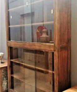 Antique teak cabinet-2