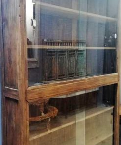 Antique teak cabinet-3
