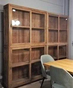 Two Antique Display Cases-2