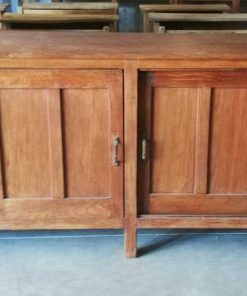 Antique Teak Sideboard-1