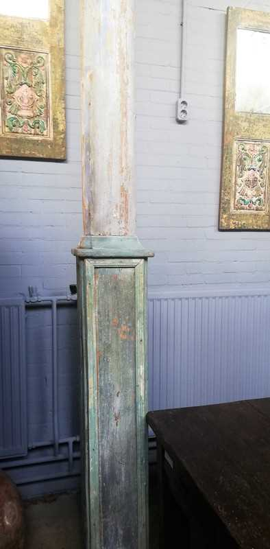 Antique wooden column / pillar-2