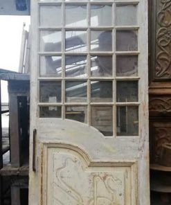 Antique windowed door-1