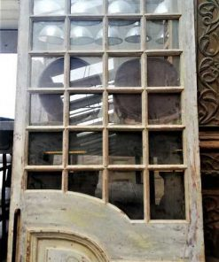 Antique windowed door-2
