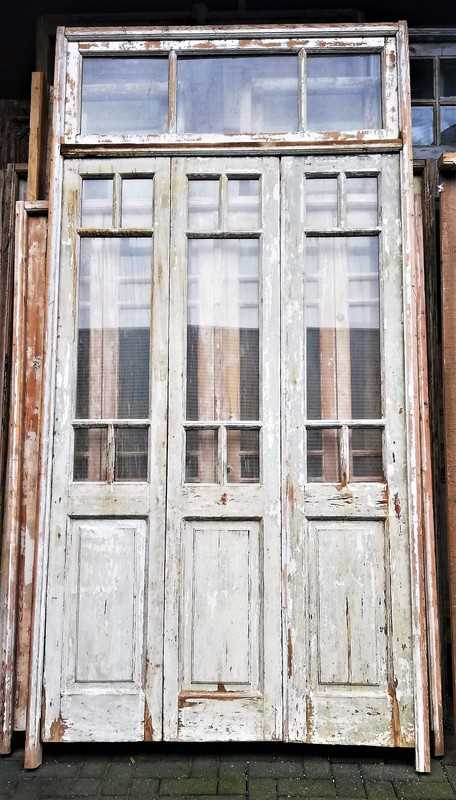 Antique orangery / 3-panel doors-1