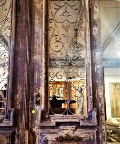 Antique French exterior doors-2