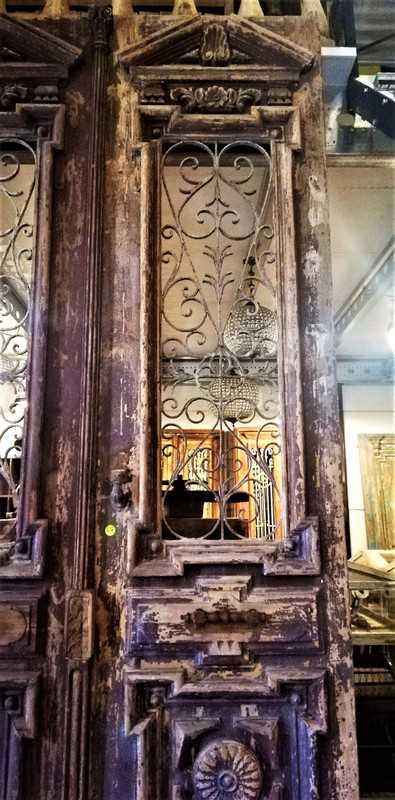 Antique French exterior doors-2