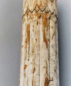 Antique white wooden pillar / column-2