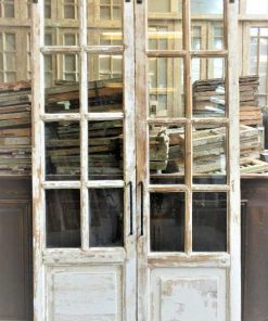 Antique double glazed doors-1