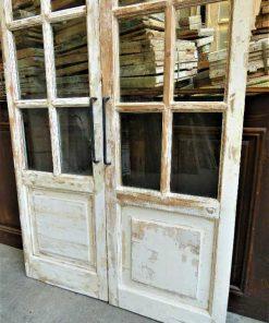 Antique double glazed doors-3