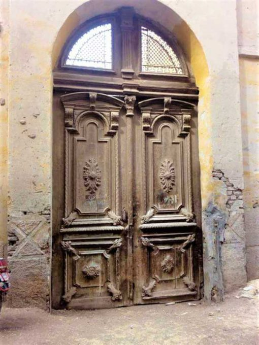 Large antique door-5
