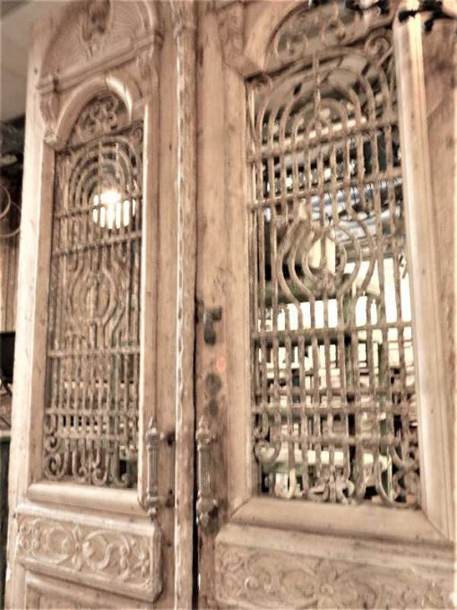 Antique French outside doors-3