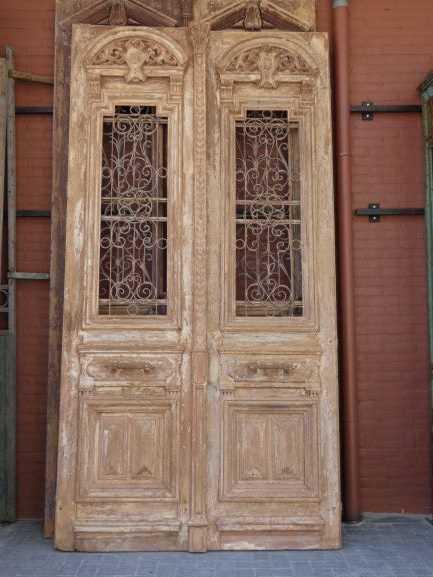 Antique French doors-1