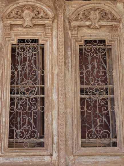 Antique French doors-2