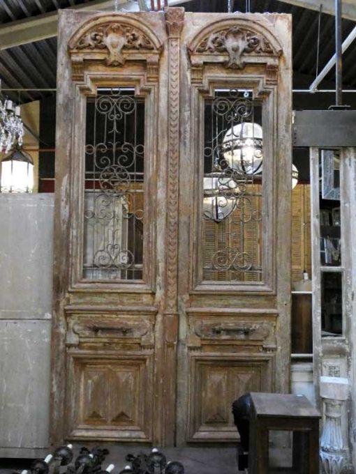 Antique French doors-4