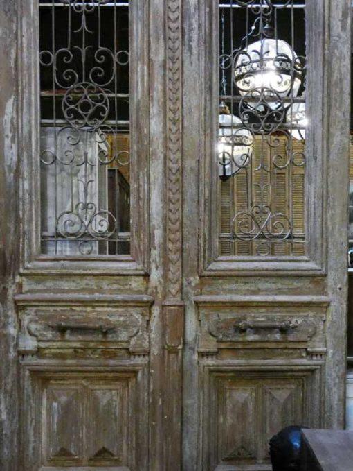 Antique French doors-5