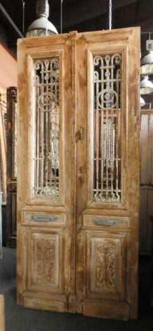 Antique French door-1