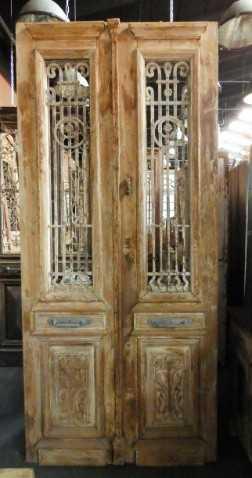 Antique French door-2