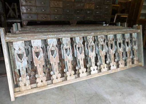 Wooden balustrade-1