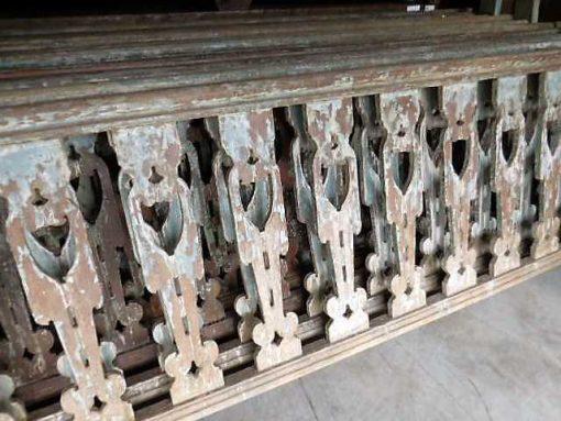 Wooden balustrade-4