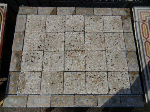 Cement tiles with border-1
