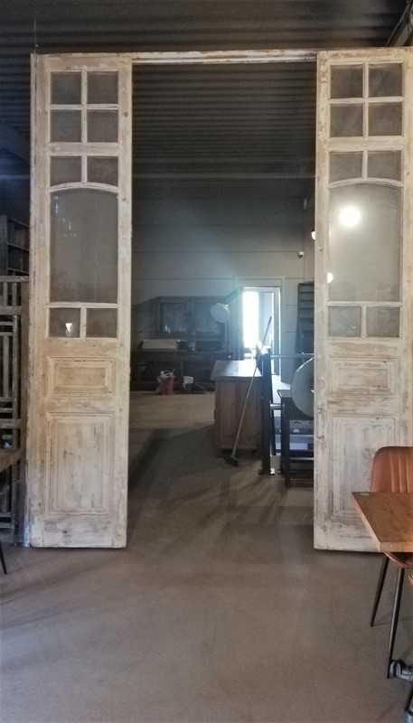 Antique Orangery Door / 4-stroke Doors-1