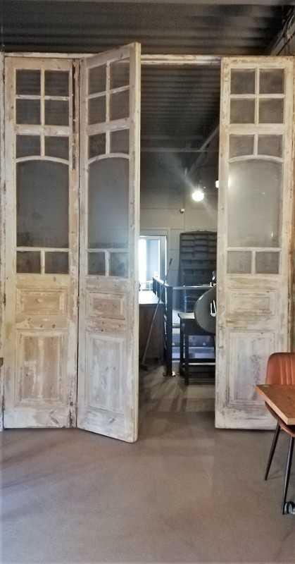 Antique Orangery Door / 4-stroke Doors-2