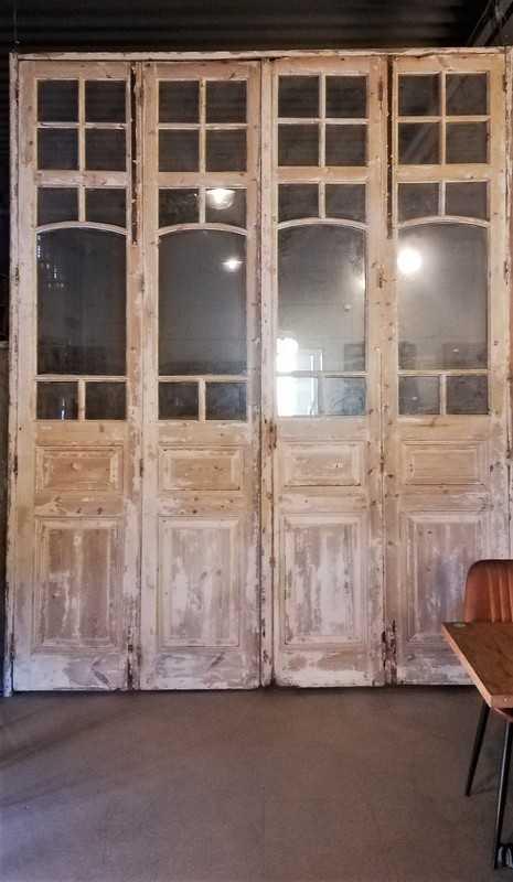 Antique Orangery Door / 4-stroke Doors-3