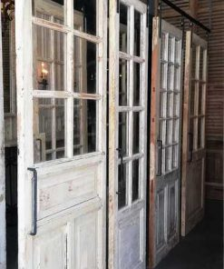 Antique Sliding Doors With Glass-2