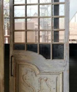 Antique Sliding Doors With Glass-4