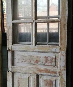 Antique Sliding Doors With Glass-5