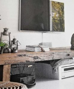 Antique wooden table-1