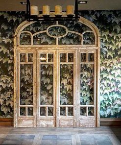 Antique orangery door / 4-panel doors in frame-1