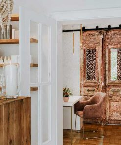 Antique French doors as connecting doors-1