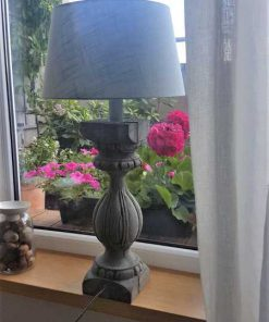Baluster / column as base for lamp-1