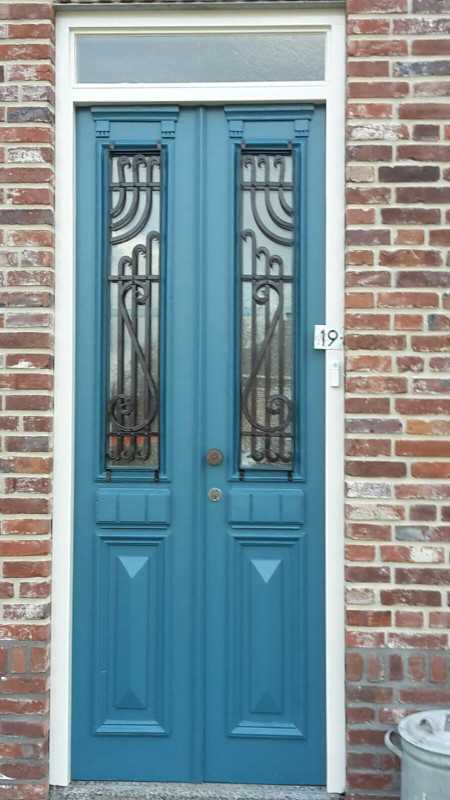 Antique French front door-1