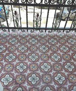 Antieke motief tegels voor balkon-1