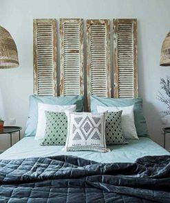 Antieke Luiken Als Bed Board-1