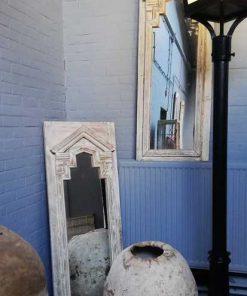 Spiegel in houten lijst-1