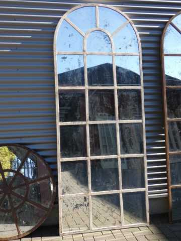 Cream-colored stable window mirrors-3