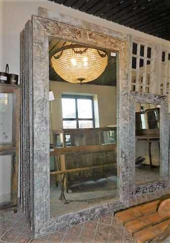 Industriele spiegels met metalen lijst-1
