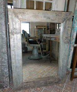 Industriele spiegels met metalen lijst-4