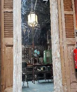 Wooden mirror-1