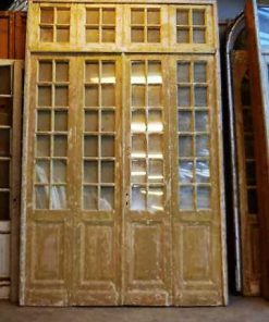 Antique orangery / 4-stroke doors with mirrors-1